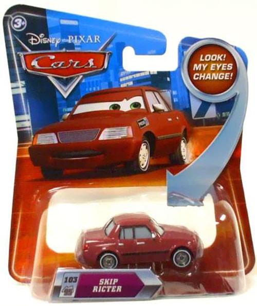 Disney Cars Lenticular Eyes Series 2 Skip Ricter Diecast Car