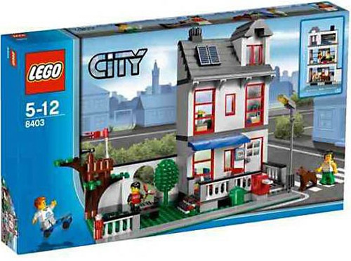 LEGO City House Exclusive Set #8403