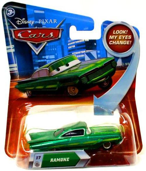 Disney Cars Lenticular Eyes Series 2 Ramone Diecast Car [Green]