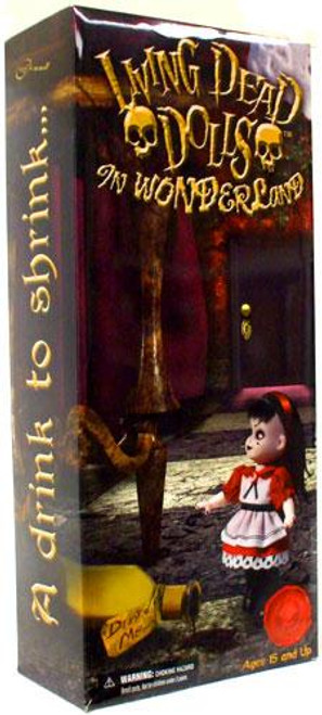 Living Dead Dolls In Wonderland A Drink To Shrink... And A Cake To Grow Exclusive Action Figure