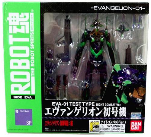 Neon Genesis Evangelion Robot Spirits EVA-01 Test Type Exclusive Action Figure [Night Combat Ver.]