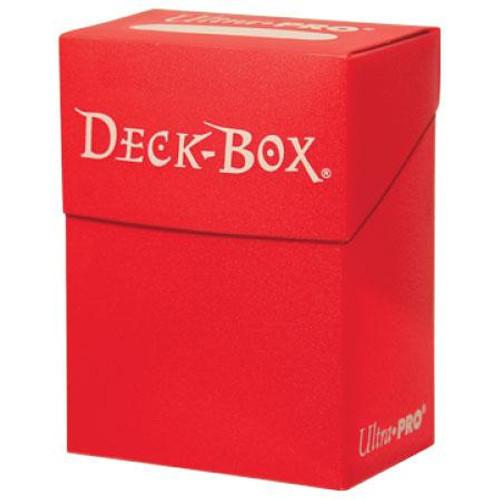 Ultra Pro Card Supplies Red Deck Box