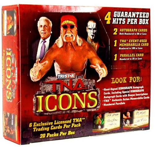 TNA Wrestling 2010 TNA Icons Trading Card Box