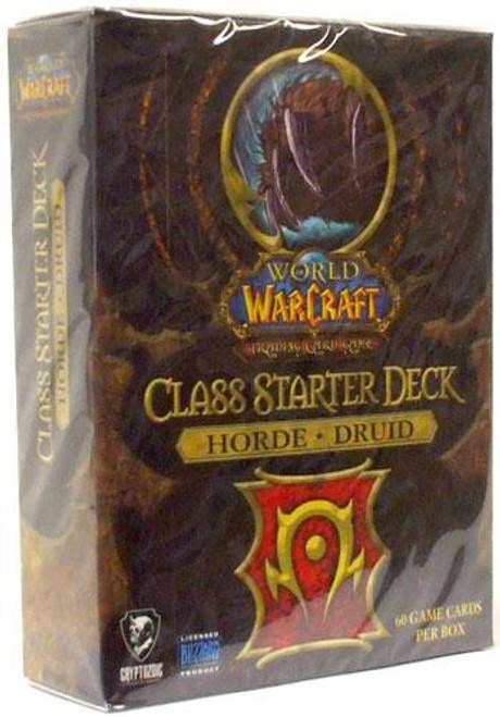World of Warcraft Trading Card Game Class Starter Deck Druid Starter Deck [Horde]