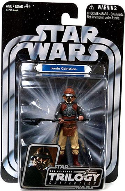 Star Wars The Empire Strikes Back Original Trilogy Collection 2004 Lando Calrissian Action Figure #32 [Skiff Guard Disguise]
