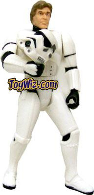 Star Wars A New Hope Power of the Force POTF2 Exclusives Mail Away Figure Han Solo in Stormtrooper Disguise Exclusive Action Figure