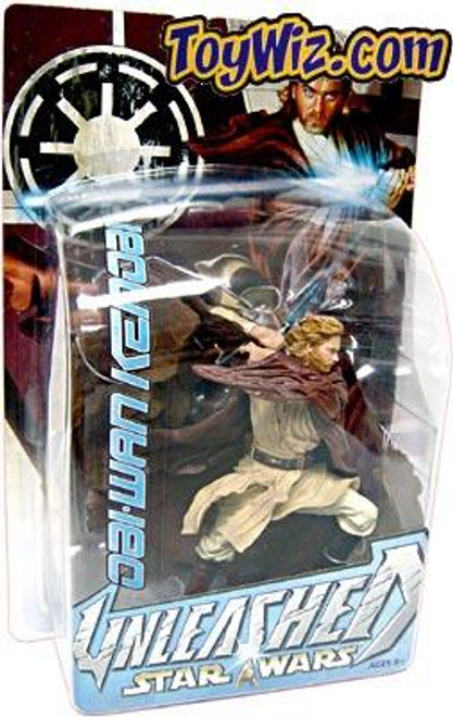 Star Wars Revenge of the Sith Unleashed Series 9 Obi-Wan Kenobi New Package Action Figure