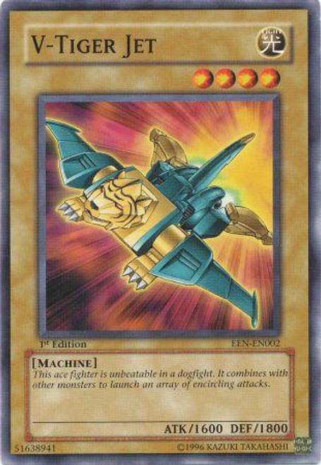 YuGiOh Elemental Energy Common V - Tiger Jet EEN-EN002