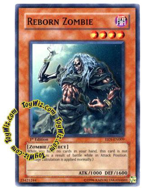 YuGiOh Elemental Energy Common Reborn Zombie EEN-EN009