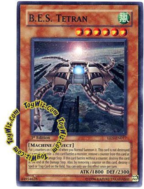 YuGiOh Elemental Energy Super Rare B.E.S. Tetran EEN-EN017