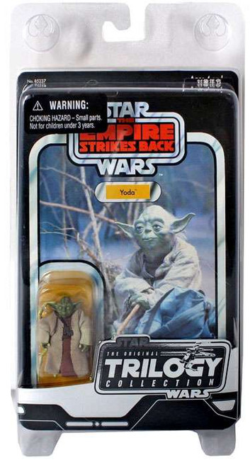 Star Wars The Empire Strikes Back Original Trilogy Collection 2004 Yoda Action Figure