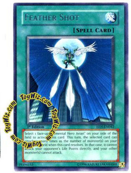 YuGiOh Elemental Energy Rare Feather Shot EEN-EN042
