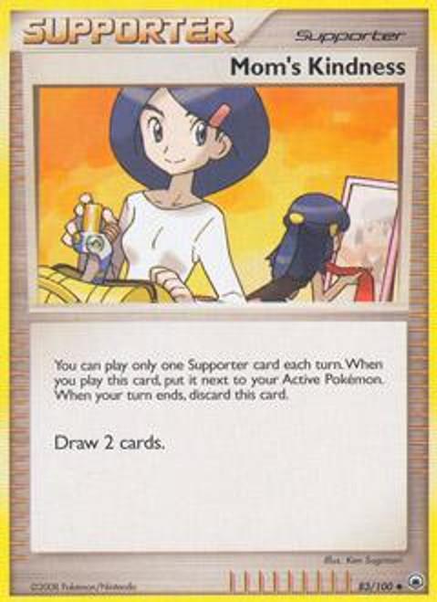 Pokemon Diamond & Pearl Majestic Dawn Uncommon Mom's Kindness #83