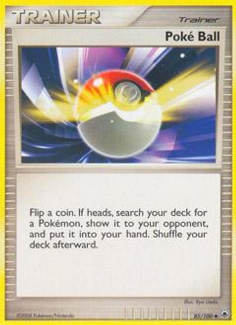 Pokemon Diamond & Pearl Majestic Dawn Uncommon Poke Ball #85