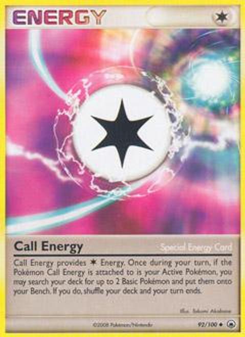 Pokemon Diamond & Pearl Majestic Dawn Uncommon Call Energy #92