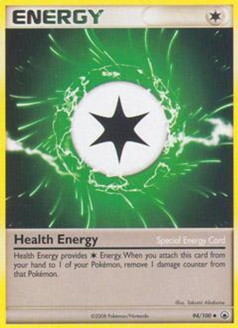 Pokemon Diamond & Pearl Majestic Dawn Uncommon Health Energy #94