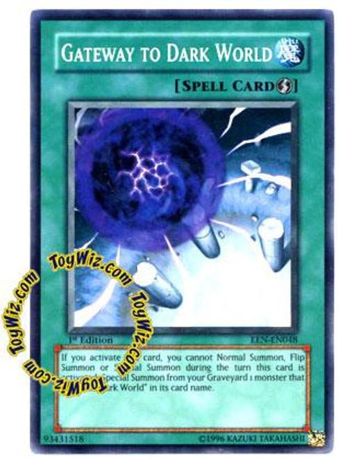 YuGiOh Elemental Energy Common Gateway to the Dark World EEN-EN048
