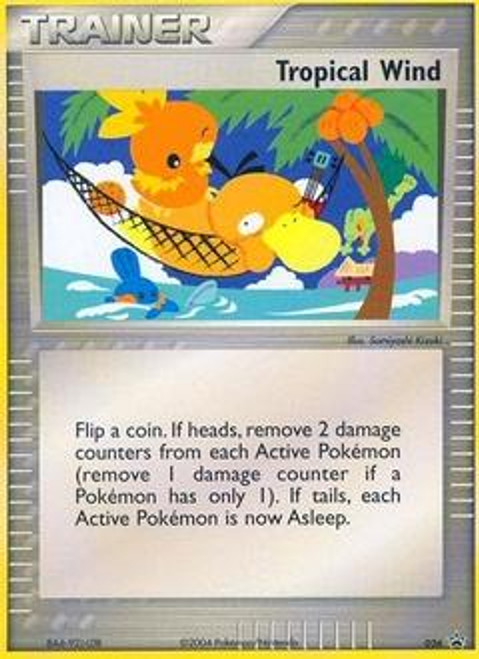 Pokemon Promo Cards Promo Tropical Wind #26
