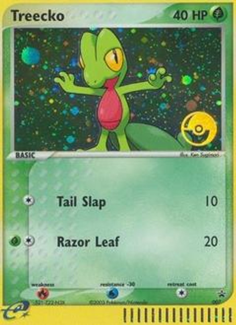 Pokemon Promo Cards Rare Holo Treecko #7