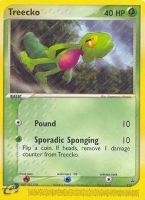 Pokemon Promo Cards Rare Treecko #16