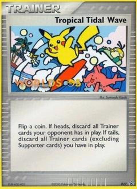 Pokemon Promo Cards Promo Tropical Tidal Wave #27