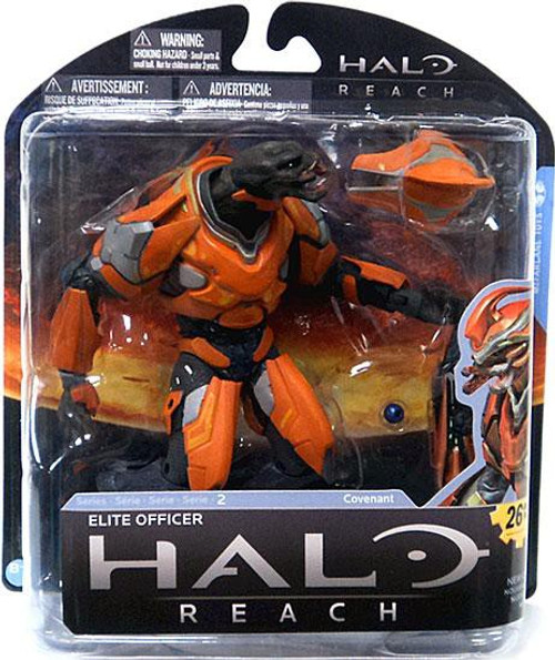 McFarlane Toys Halo Reach Series 2 Elite Officer Action Figure [Orange]