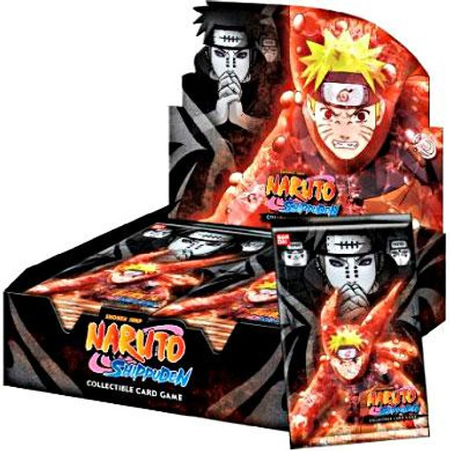 Naruto Shippuden Card Game Path of Pain Booster Box