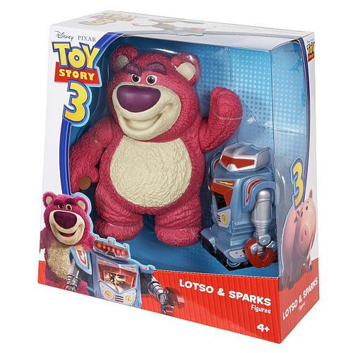 Toy Story 3 Lotso & Sparks Exclusive Action Figure 2-Pack