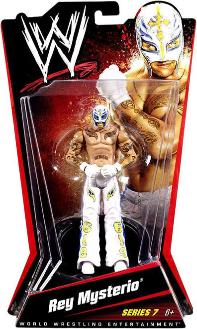 WWE Wrestling Series 7 Rey Mysterio Action Figure