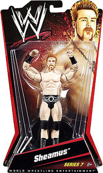 WWE Wrestling Series 7 Sheamus Action Figure