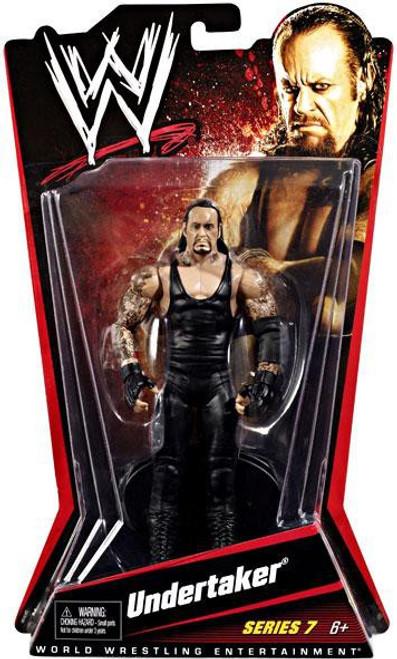 WWE Wrestling Series 7 Undertaker Action Figure