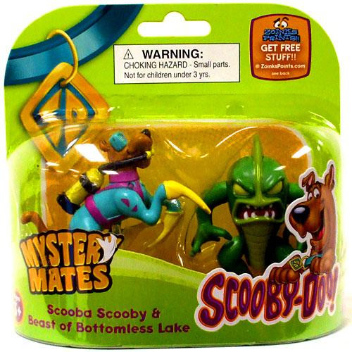 Scooby Doo Mystery Mates Scooba Scooby & Beast of Bottomless Lake Mini Figure 2-Pack