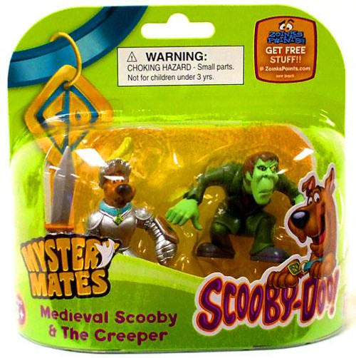 Scooby Doo Mystery Mates Medieval Scooby & The Creeper Mini Figure 2-Pack