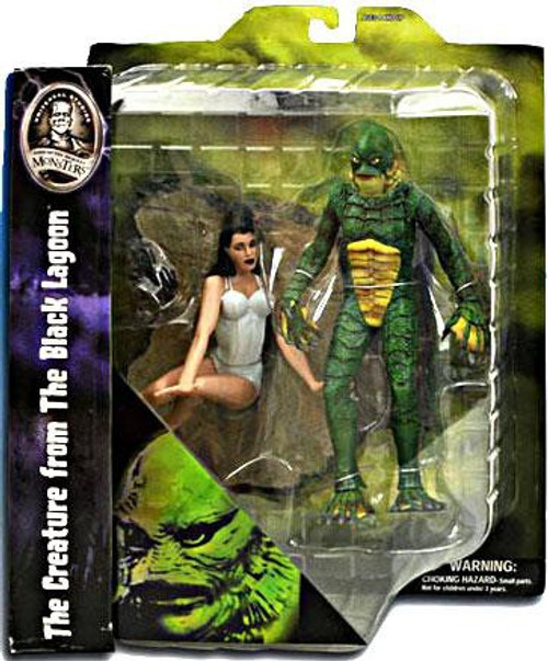 Universal Monsters Creature From The Black Lagoon Action Figure [With Kay Lawrence]