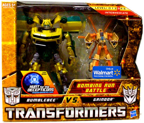 Transformers Hunt for the Decepticons Bombing Run Battle Exclusive Deluxe Action Figure Set