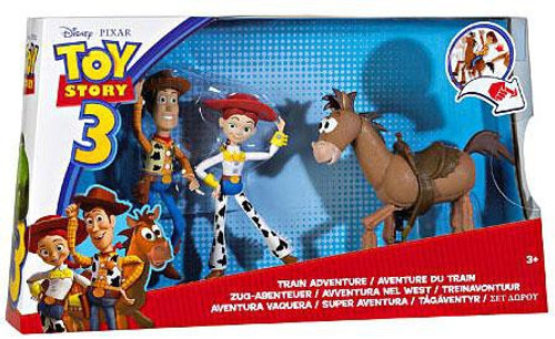 Toy Story 3 Train Adventure Exclusive Action Figure 3-Pack