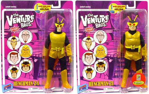 The Venture Bros. Series 3 Henchman 21 & Henchman 24 Exclusive Action Figures