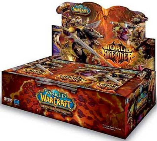 World of Warcraft Trading Card Game World Breaker Booster Box
