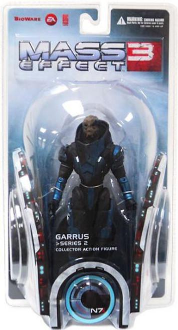 Mass Effect 3 Series 2 Garrus Action Figure