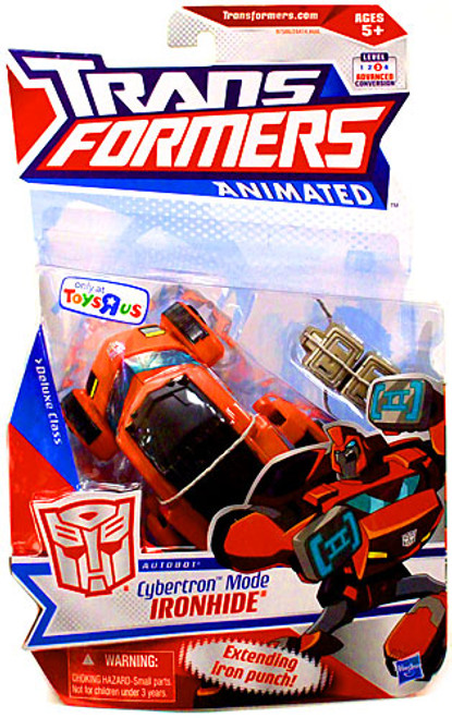 Transformers Animated Deluxe Cybertron Mode Ironhide Exclusive Deluxe Action Figure