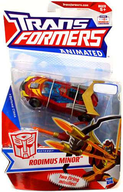 Transformers Animated Deluxe Rodimus Minor Exclusive Deluxe Action Figure