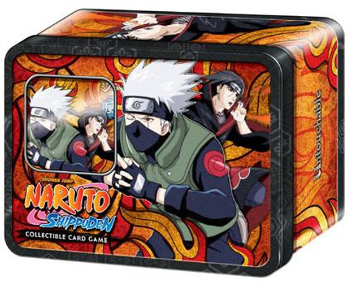 Naruto Shippuden Card Game Untouchable Collector Kakashi & Itachi Collector Tin