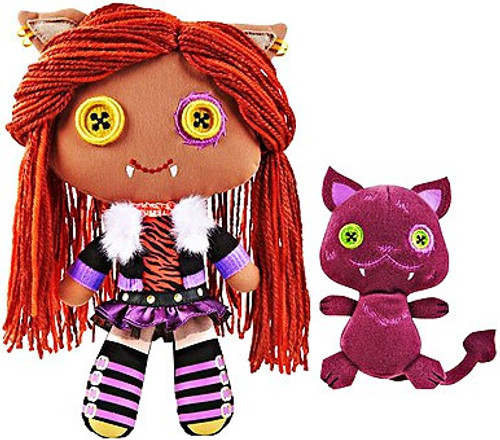 Monster High Friends Clawdeen & Crescent Plush Dolls