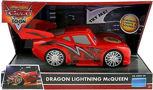 Disney Cars Cars Toon Dragon Lightning McQueen Plastic Car