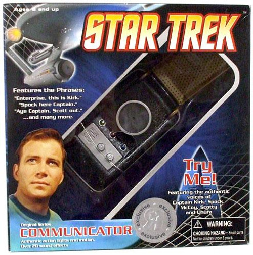 Star Trek The Original Series Classic Communicator Exclusive Roleplay Toy