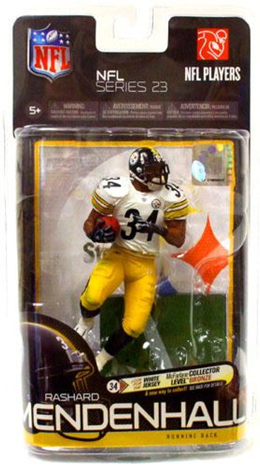 McFarlane Toys NFL Pittsburgh Steelers Sports Picks Series 23 Rashard Mendenhall Action Figure [White Jersey]