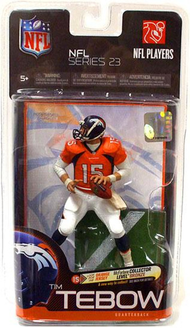 McFarlane Toys NFL Denver Broncos Sports Picks Series 23 Tim Tebow Action Figure [Orange Jersey]