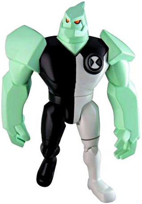 Ben 10 DiamondHead Action Figure [Black & White Uniform Loose]