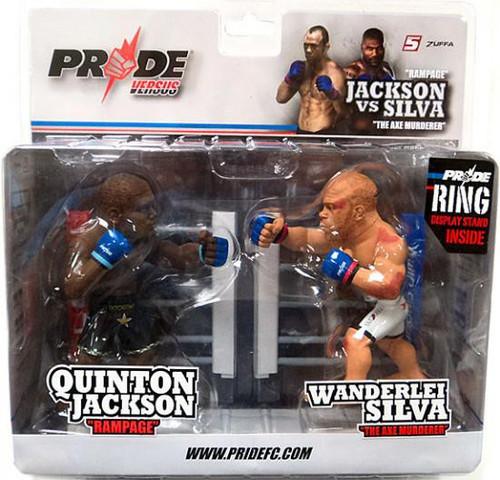UFC Pride Versus Series 1 Quinton Jackson vs. Wanderlei Silva Action Figure 2-Pack