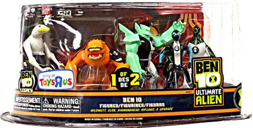 Ben 10 Ultimate Alien Exclusive Action Figure 5-Pack [1 of 2]